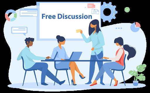 تاثیر free discussion  (گفت و گو آزاد)در یادگیری زبان های خارجی